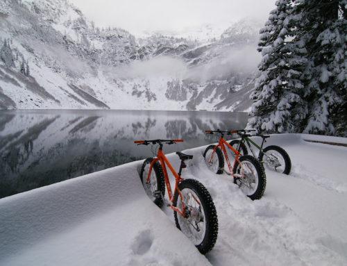 Dónde montar en bici en invierno